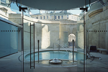 A 21st century spa where Stannah has recently fitted a luxury goods lift