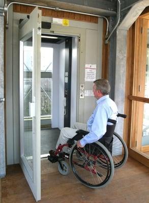Stannah access lift at SS Great Britain