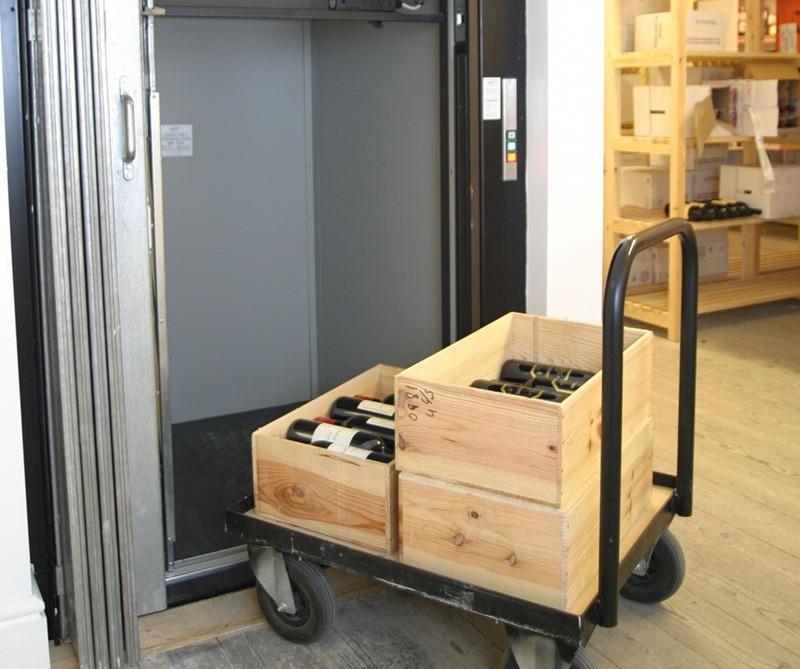 trolleylift-wine-cellar-eastnor-castle-wedding-venue